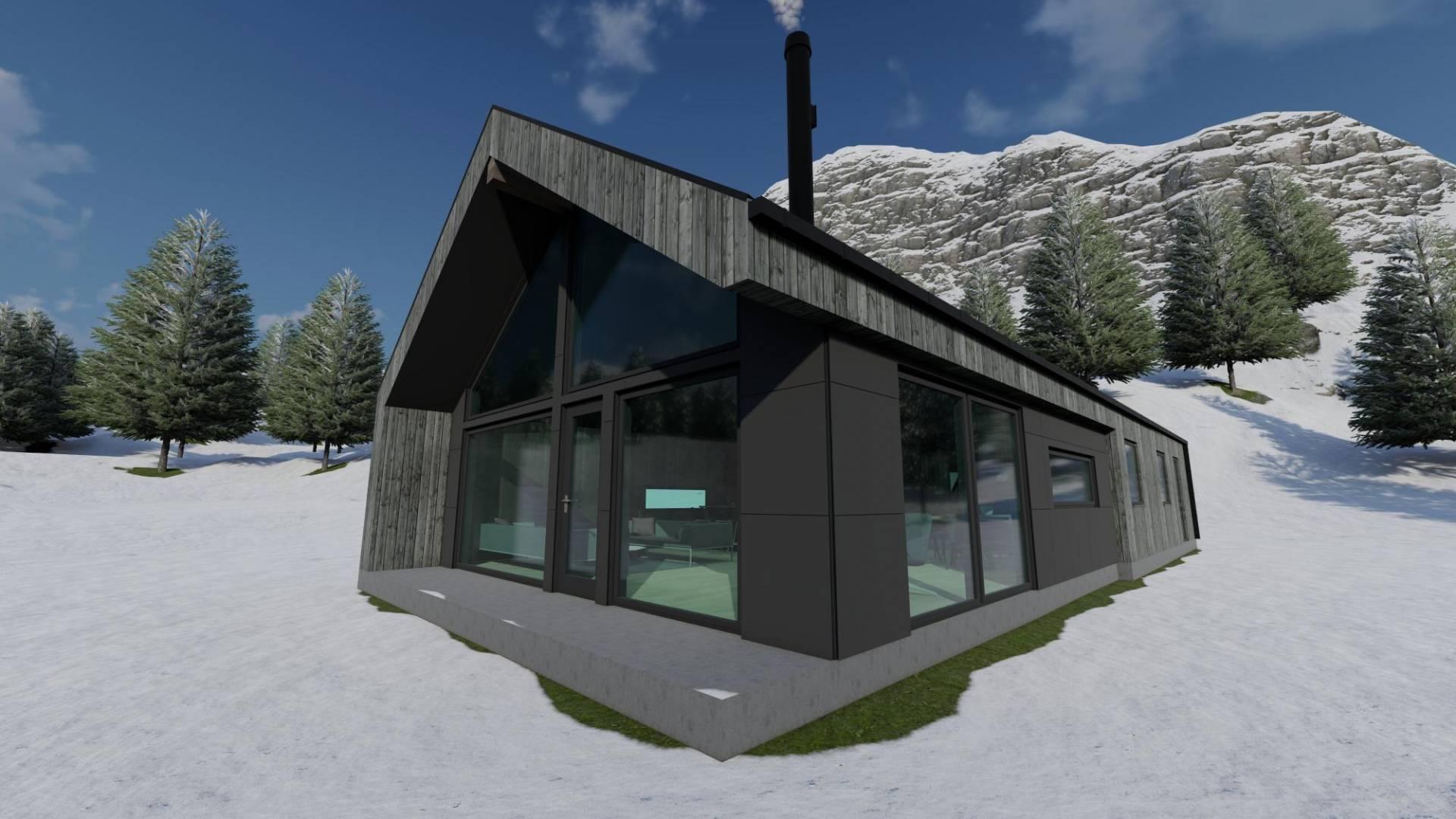 Velkommen til Vatnedalsvegen 89! Flott prosjektert hytte med bruksareal på 145 kvm